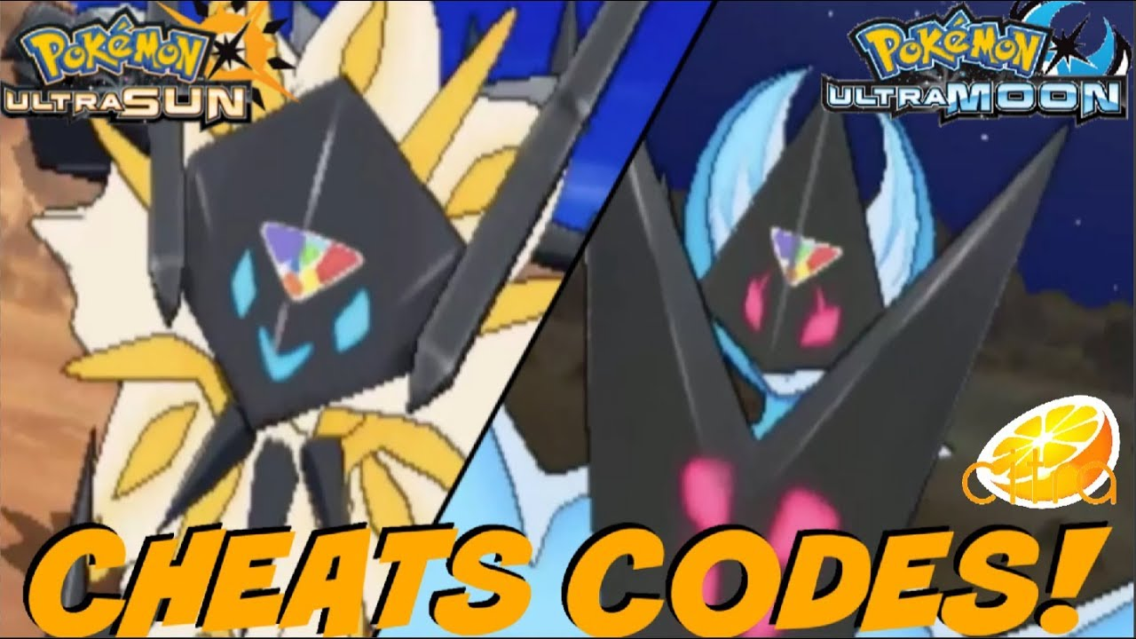 <b>CHEATS CODES</b> FOR <b>POKEMON</b> ULTRA <b>SUN</b> AND ULTRA MOON HOW TO ADD &amp; USE ...