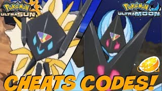 Pokemon Ultra Sun Cheat Codes Citra search