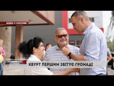 НТА - Незалежне телевізійне агентство: Володимир Квурт першим звітує громаді