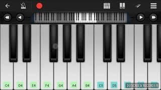 Kabhi Alvida Na Kehna Title Song Piano Tutorial