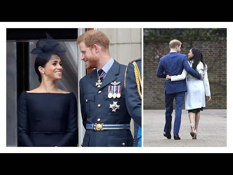 Prince Harry and Meghan Markle's sweetest PDA moments