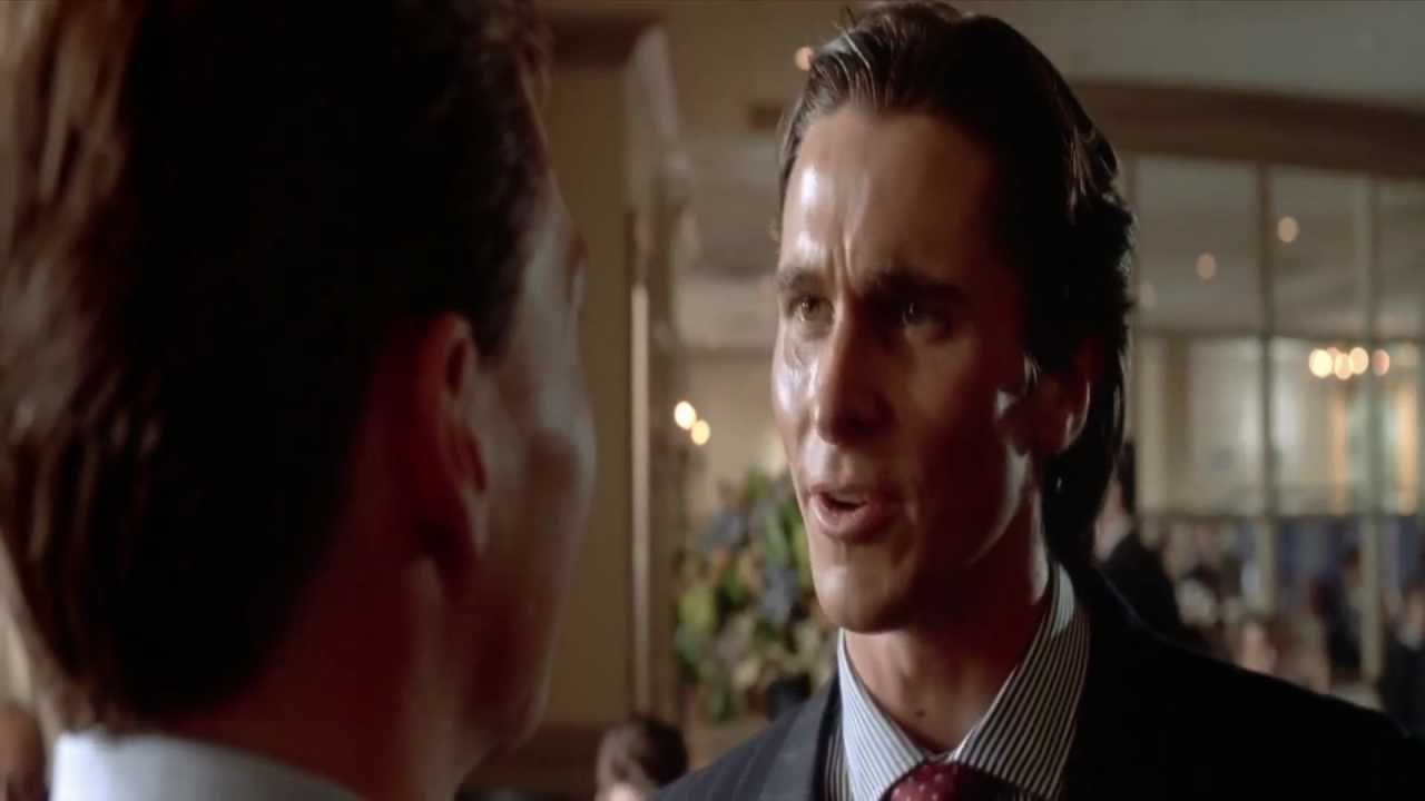 American Psycho - Ending - 1080p HD - YouTube