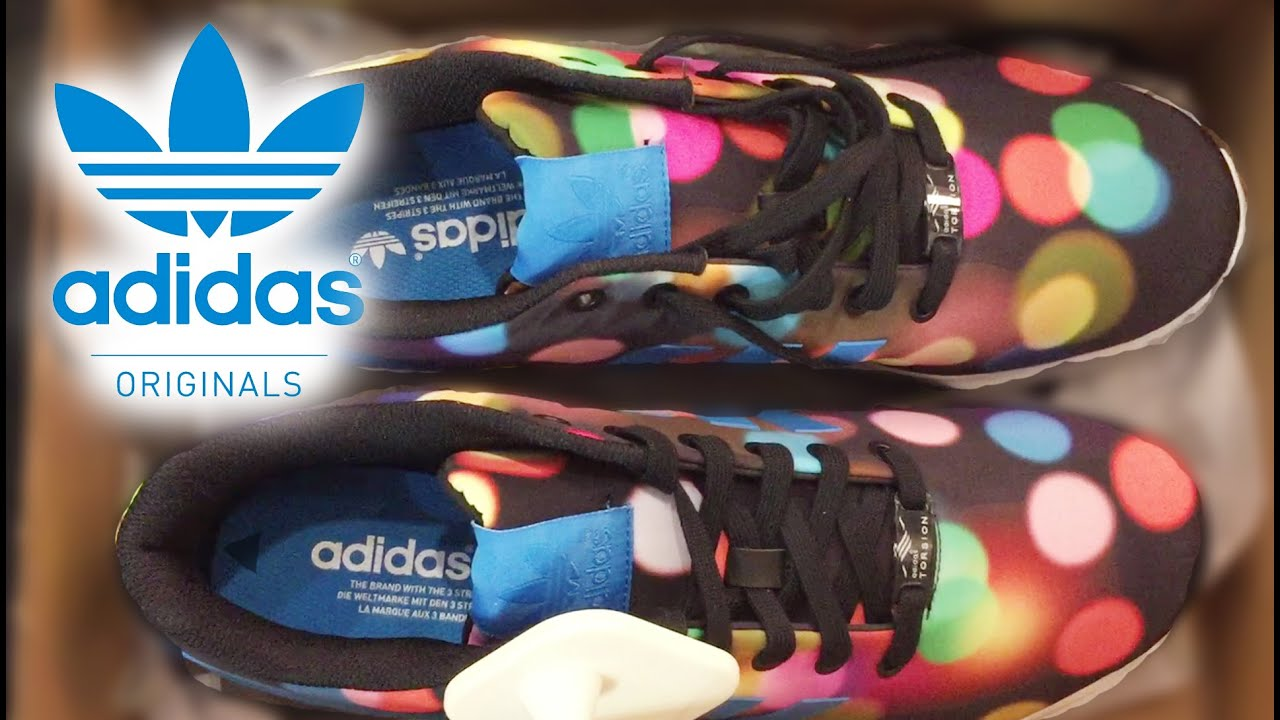 adidas zx flux unboxing