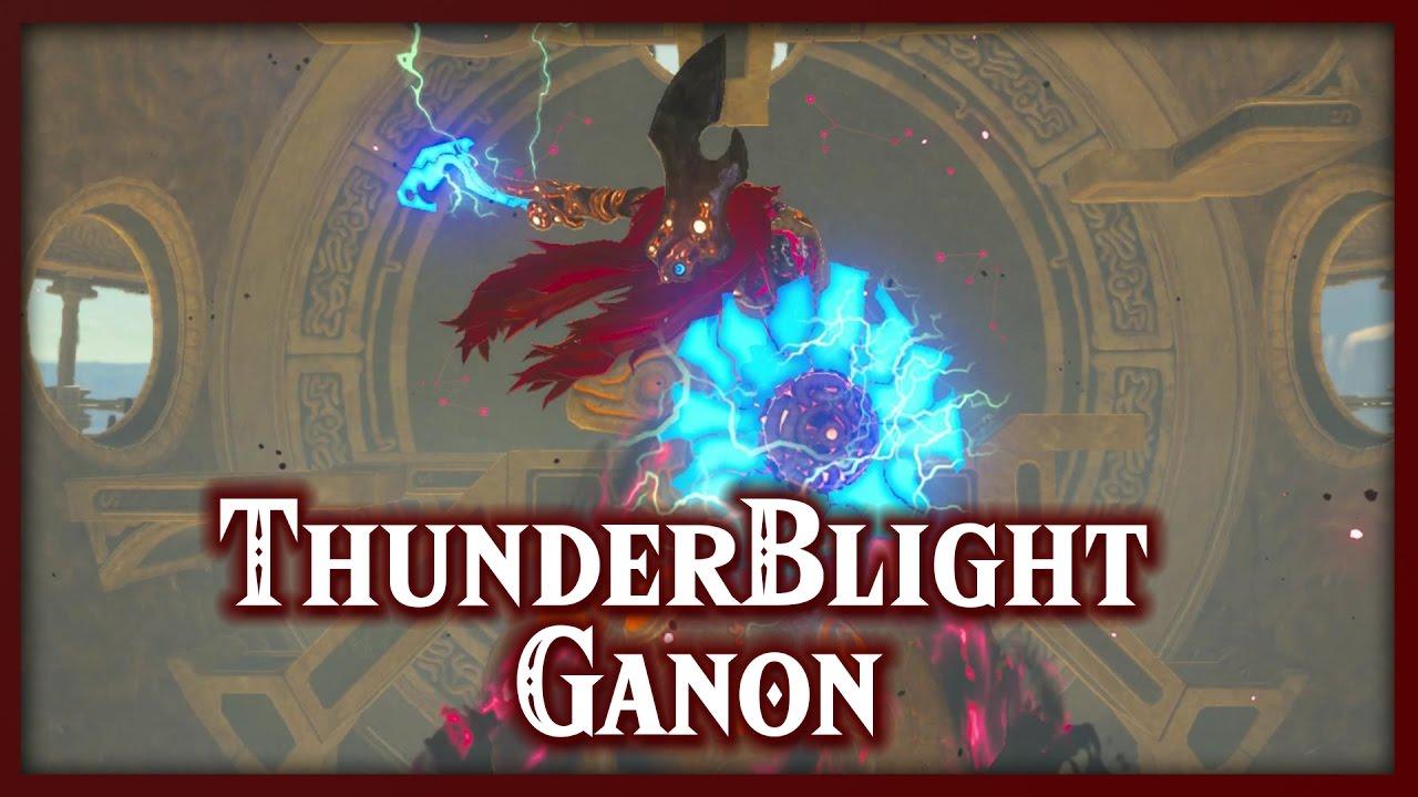 Zelda Breath Of The Wild Thunderblight Ganon Boss Divine Beast Vah Naboris