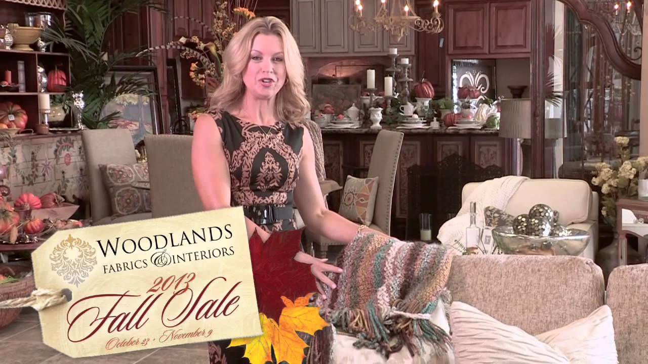 Woodlands Fabrics U0026 Interiors Fall Sale 2013 Commercial