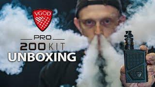 UNBOXING THE PRO 200 KIT | VGOD
