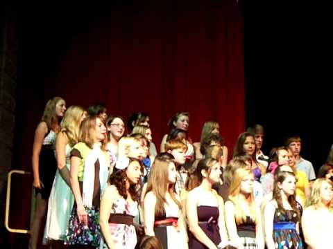 Caledonia Kraft Meadows Middle School Choir~ 8th grade