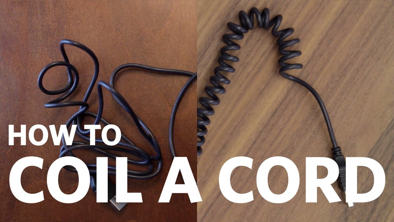how to stop headphone wires from curling