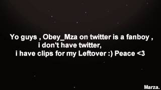 I DNT HAVE TWITTER ! Obey Marza in twitter is a fucking fanboy , dn...