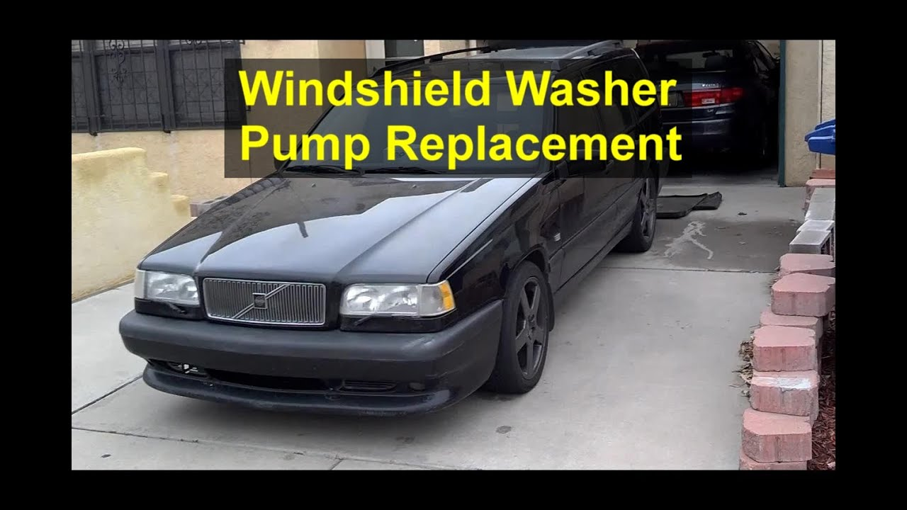 Windshield Washer Pump Replacement Volvo 850 Votd Youtube