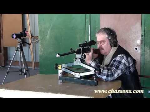 La carabine HP Varmint Slide Alain Adjémian cal 6 mm BR ...