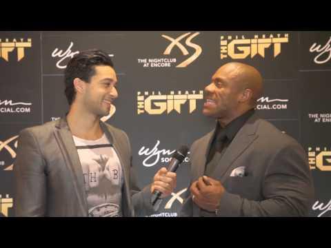 Viva VegasTV - Phil Heath Interviewed After His Fourth Mr. Olympia Title