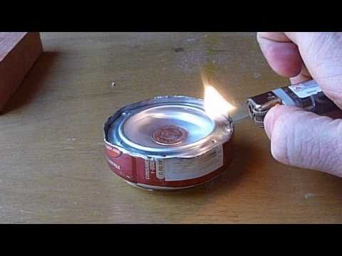 Penny Alcohol Backpacking Stove