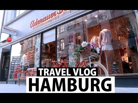 HAMBURG TRAVEL DIARY #VLOG | FASHION CONFESSION
