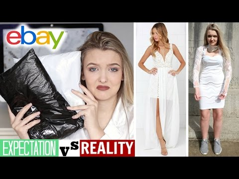 Trying On $3 WEDDING Dresses I Bought From Ebay *DISASTER*