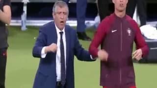 реакция Роналду на гол Эдера #2