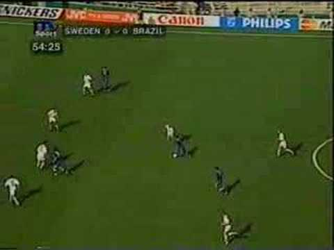 Extended highlights of Sweden-Brazil WC 94