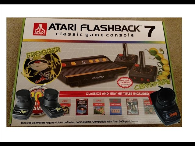 AtGames Atari Flashback 7 Update...Paddle and Driving controller
