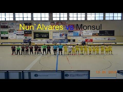 Jogo futsal iniciados AF Braga 2018/19 - Nun`Alvares vs Monsul