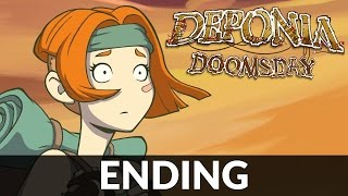 Deponia Doomsday Gameplay: ENDING | PC Steam