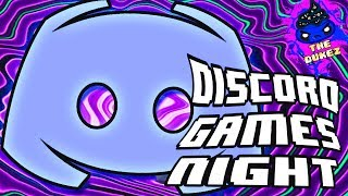 DISCORD GAMES NIGHT! | Struggling to record...