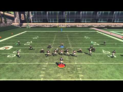 Madden NFL 16 1 of the easiest abc blitzes!