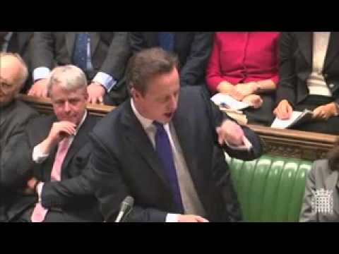 Ed Miliband v David Cameron, PMQs, 23/01/13