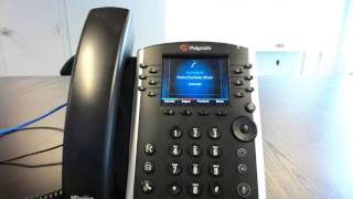 Intercom and paging features for Polycom VVX Phones