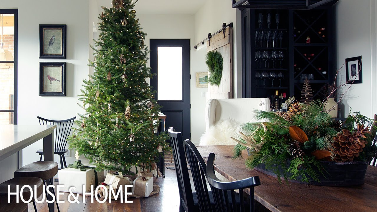 House Tour Simple Christmas Decor Ideas Youtube