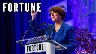 Senator Amy Klobuchar: How Female Senators Govern Differently | MPW 2017