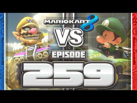 TEN POUNDS OF COLOR Mario Kart 8 Online Team Races - Ep 259 w/ TheKingNappy + Friends!