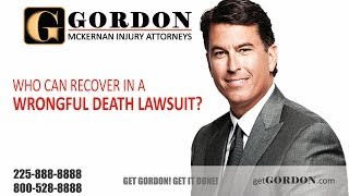 Who can recover in a wrongful death lawsuit? | Gordon McKernan Injury Attorneys