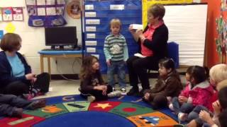 Preschool literacy demonstration