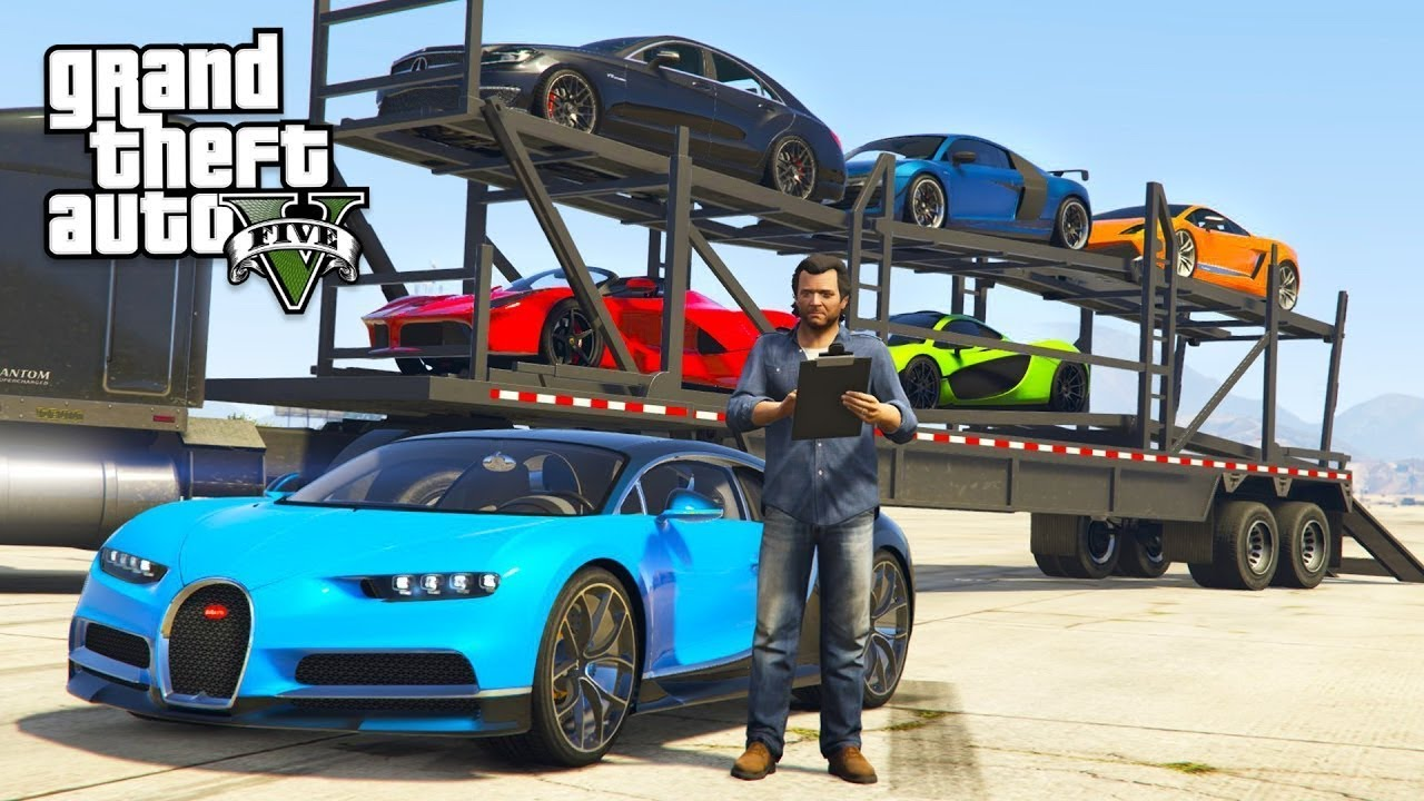 Install Super Cars GTA 5 #31 Packs Super Cars By MONSTER