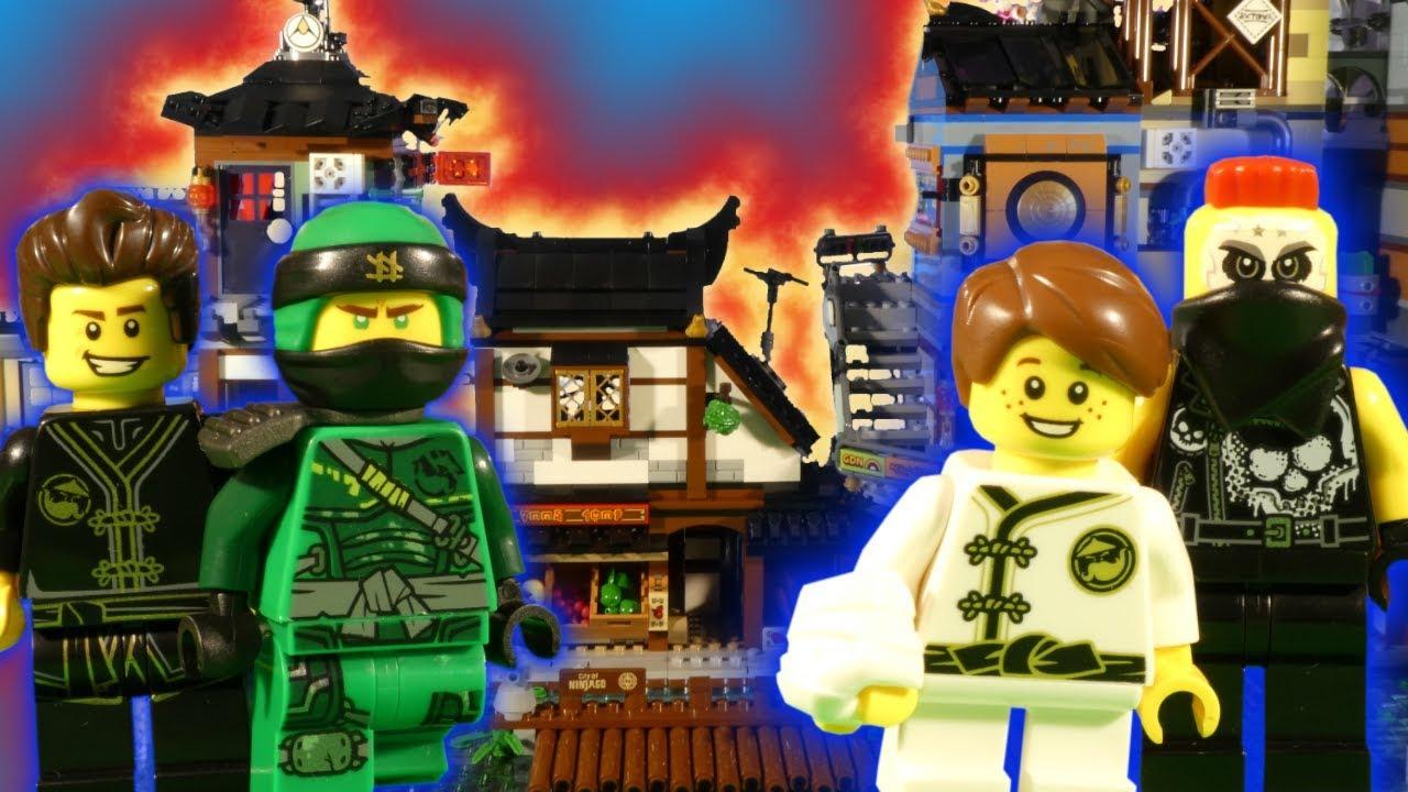 LEGO NINJAGO CITY DOCKS - HUNTED SHOWDOWN