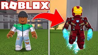 TRANSFORMING INTO IRON MAN IN ROBLOX