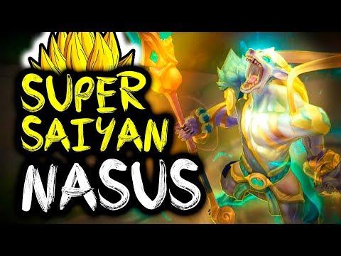 ⚡ NEW SUPER SAIYAN NASUS SKIN IS LITERALLY PAY TO WIN LUL - SirhcEz