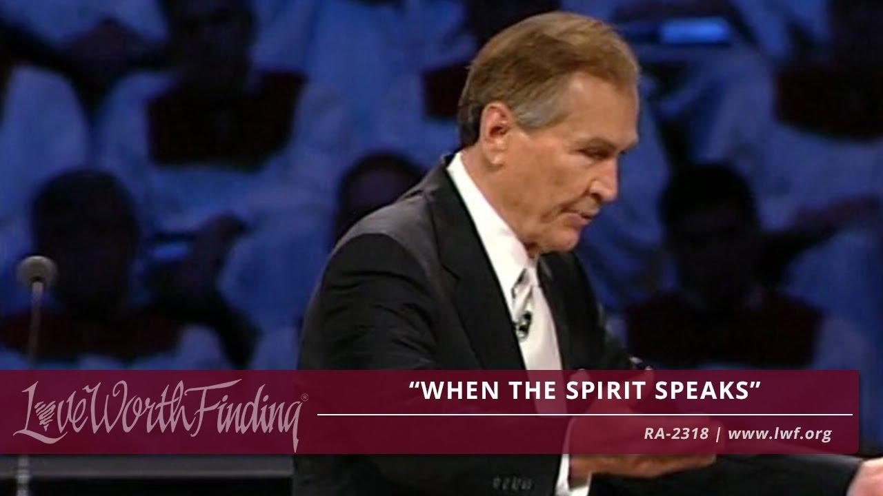 Adrian Rogers: When the Spirit Speaks - RA2318