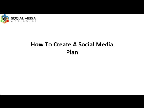 How To Put Together A Social Media Plan
