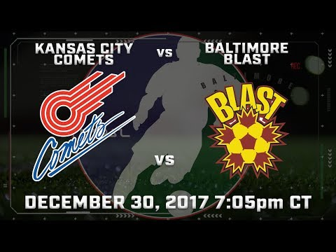 Kansas City Comets vs Baltimore Blast