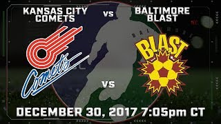 Kansas City Comets vs Baltimore Blast