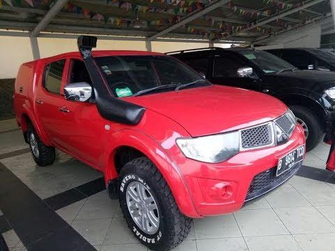 Review Mobil Bekas Indonesia, Mitsubishi Strada Triton Double Cabin - GLX 4wd M/T 2010