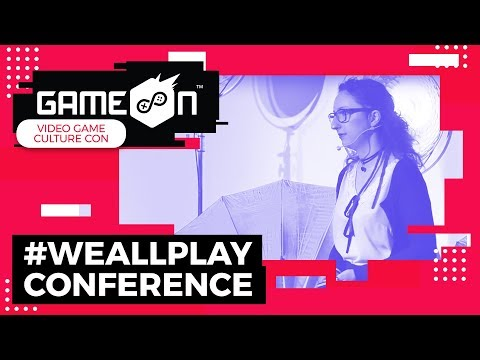 "GameOn 2018 WeAllPlay Conference - Aleksandra Jarosz ""Usage of Games for Depression Treatment"""