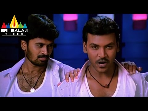 Style Movie Prabhu Deva Challenge To Antony Scene | Lawrence, Prabhu Deva | Sri Balaji Video