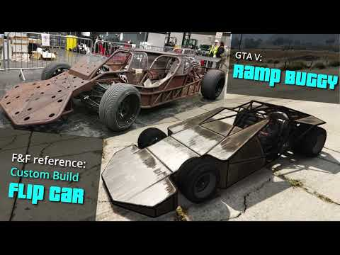 GTA V Online Cars Vs Fast And Furious Cars | Side By Side Comparison.