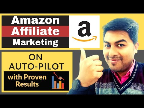 How To Earn Money From Amazon Affiliate Marketing on Auto-Pilot in Hindi - Learn Affiliate Marketing thumbnail