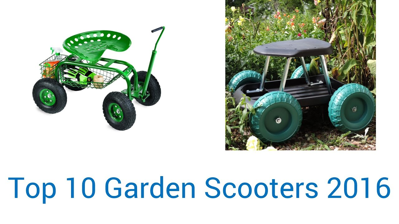 10 Best Garden Scooters 2016 YouTube