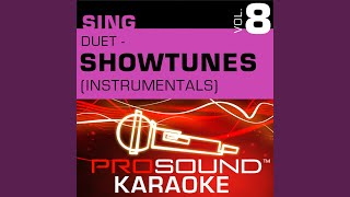 Anyone Can Whistle (Karaoke Instrumental Track) (In the Style of Anyone Can Whistle)