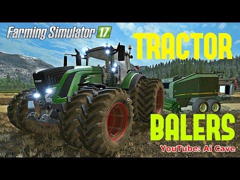 Farming Simulator 2017 Mods: FENDT 900 SERIES PACK & John Deere Balers Pack Review