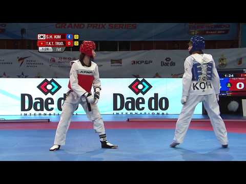 [FEMALE -49kg FINAL] Rabat 2017 World Taekwondo Grand Prix Final